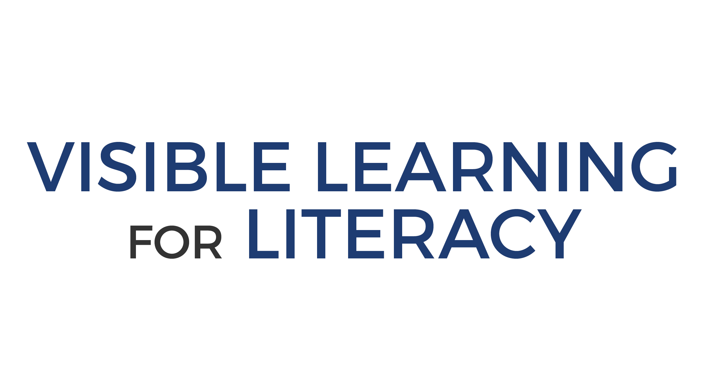 VISIBLE LEARNING FOR LITERACY: Brisbane